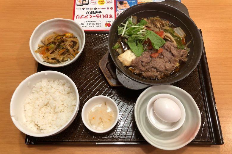 「日本の美食紀行」東京編【ガスト】牛肉すき焼き和膳